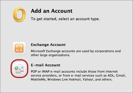 outlook mac-add-account