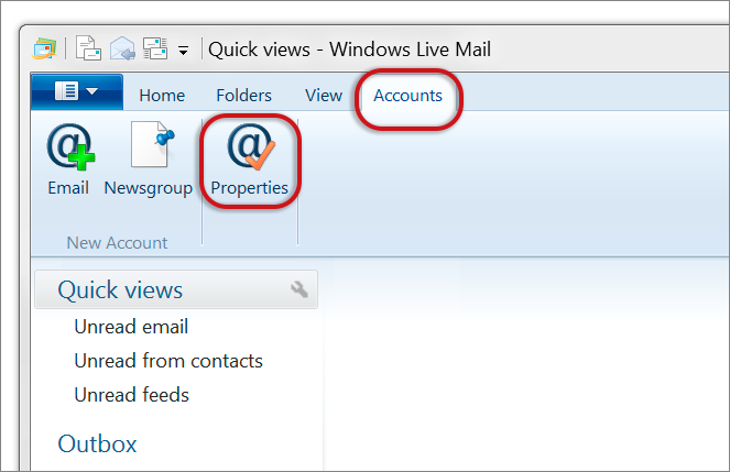 Windows Live Mail troubleshooting