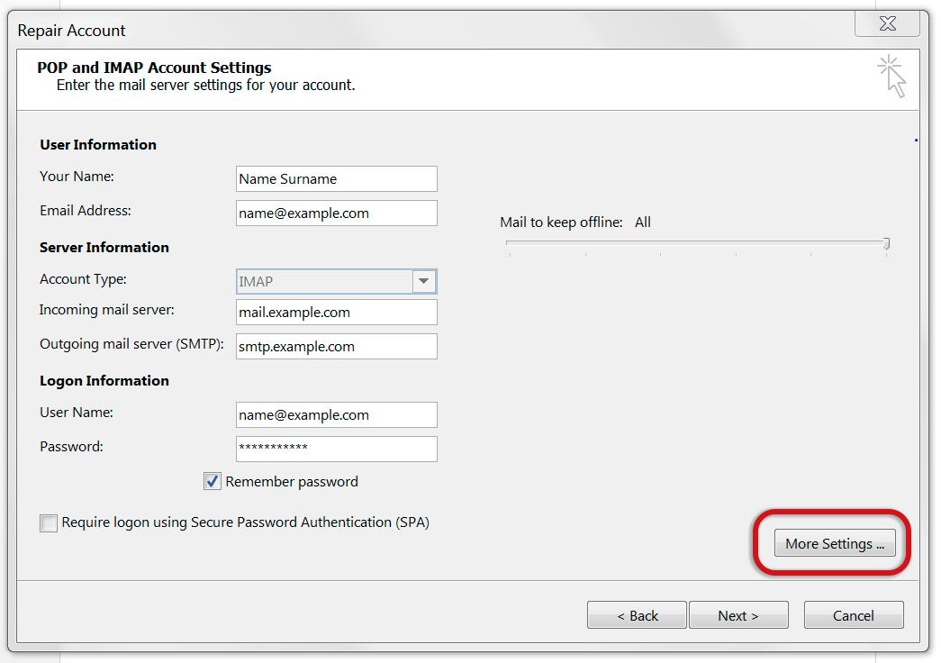 outlook2013-account-settings