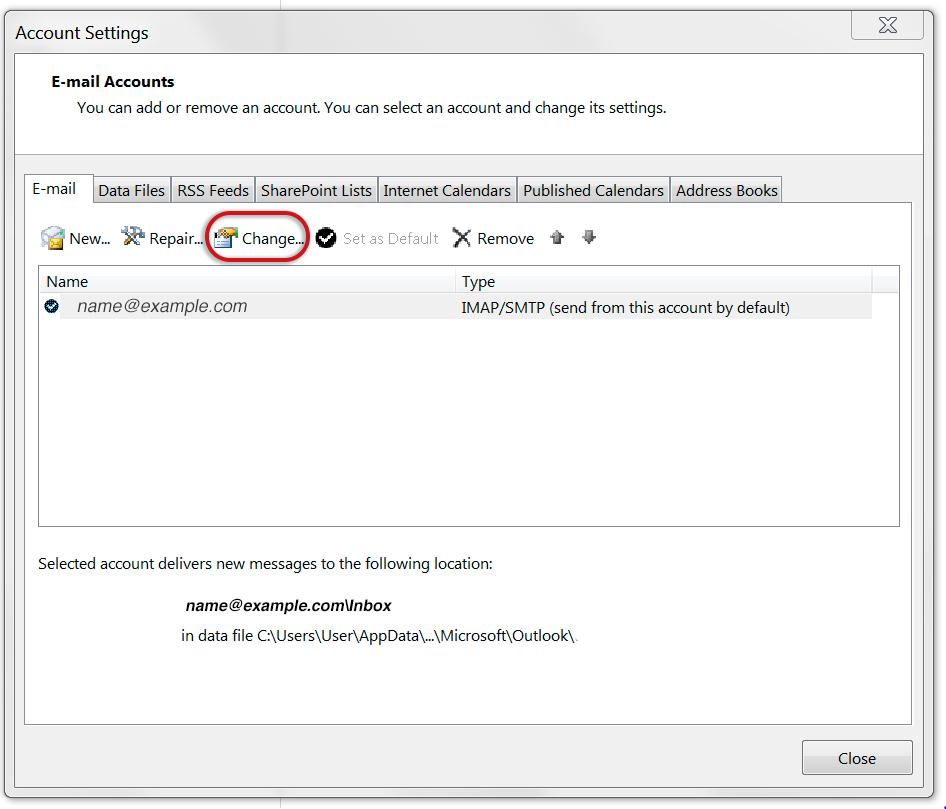outlook2013-account-settings-change