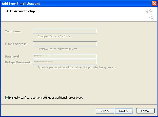 how to set up sky email account
