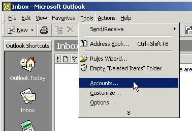 Outlook 2000 Email Setup